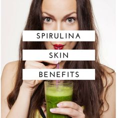 Spirulina is a superfood that has exploded in popularity in the last couple of years because of its many benefits, including for the skin. The blue-green algae Health Heal, Thyroid Health, What Is Spirulina, Blue Algae, Holistic Nutrition, Natural Skin Care, Natural Life, Health And Wellbeing, Superfood