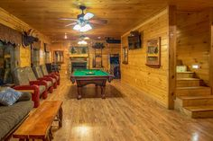Pigeon Forge cabin rental in the Smoky Mountains. Pigeon Forge Cabin Rentals, Smoky Mountains Cabins, Moose, Wedding Venues, Vacation, Elk, Wedding Places, Vacations, Holidays Music