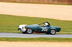 Triumph Spitfire during Friday practice for Group 1 (Triumph) at the 2012 Classic Motorsports Mitty