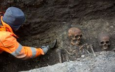 "More than a dozen human skeletons have emerged from beneath a Malmö street in a ""macabre"" find that left workers startled and onlookers thrilled. But archaeologists reacted differently to the discovery."