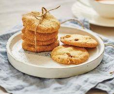 Recept Máslové sušenky s oříšky