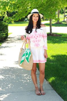Tommy Bahama - beach style - love this dress I'm wearing here as a cover up.  Love Zahra | Fashion. Design. Inspiration.