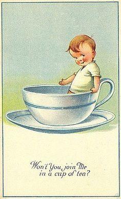 Postcard art by Charles Twelvetrees (1888-1948)