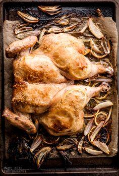 Roast Lemon Chicken | Minimally Invasive http://www.marthastewart.com/953786/roast-spatchcocked-lemon-chicken