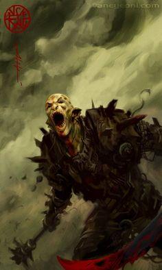 Orc by Aleksi Briclot