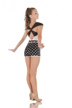 LOVE this for a sassy, classy jazz routine! - DANCE Costumes less than $50.00 - www.LaiRupe.com