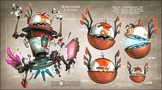 """Sigmund; """"Ratchet & Clank future: a Crack in Time""""  http://creaturebox.deviantart.com/"""