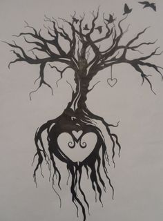 Tree of life tattoo by EmmyBunny.deviantart.com on @DeviantArt                                                                                                                                                                                 More