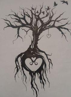 "Tree of life tattoo by <a href=""http://EmmyBunny.deviantart.com"" rel=""nofollow"" target=""_blank"">EmmyBunny.deviant...</a> on @DeviantArt"