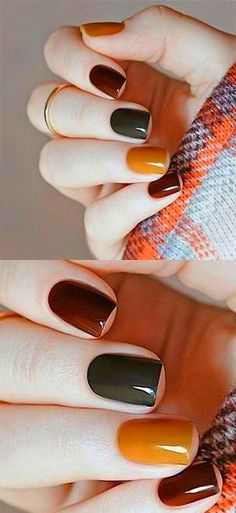 ✔ Outstanding Fall Nails Designs Ideas For Your Ravishing Look - Summer Nail Colors Ideen Classy Nails, Cute Nails, Pretty Nails, Nail Manicure, Gel Nails, Stiletto Nails, Pointed Nails, Gel Nagel Design, Fall Nail Designs
