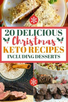 Stay on your keto diet this Christmas with these christmas keto recipes. I'm sharing fat bomb recipes for christmas as well as low carb christmas recipes! #lowcarbchristmas #ketochristmas
