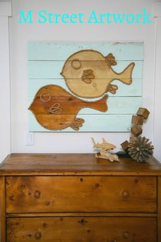 Newport Beach native Shannon Wadsworth creates unique ropeand wood artworkthat is perfect for any coastal inspired home.