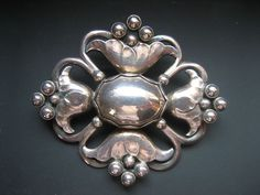 Silver 1930s Georg Jensen .925 Brooch
