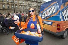 There is now an official IRN-BRU ice-cream.