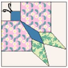 butterfly block Friday Freebie: Vintage Pieced Butterfly Quilt Pattern