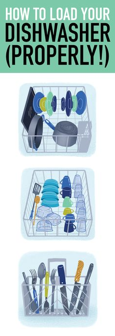 It's time to learn the right way to load your dishwasher.