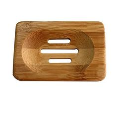 Keep a spare with a pet around! New Portable Soap Tray Holder Natural Bamboo Wooden Soaps Dish Box Case Container Wash Shower Storage Stand Home Bathroom Tool ** Shower Soap, Bath Soap, Bath Shower, Bamboo Bathroom, Wood Bathroom, Bathroom Shelves, Dish Storage, Wood Storage, Storage Rack