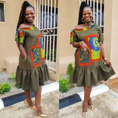 Latest African Fashion Dresses, African Print Fashion, Africa Fashion, Ankara Dress Styles, African Design, African Dress, Style Inspiration, African Beauty, Chic