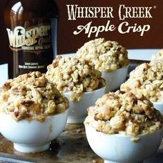 Apple Crisp - Tennessee sipping cream