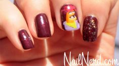 muppets nail art | The Nail Nerd features Pepe the King Prawn Muppet Nail Design | WDW ...