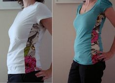 Fix Small Shirts | 22 DIY Hacks to Make Your Clothing Last Longer