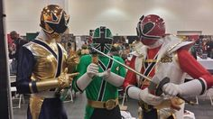 """Brock M. Pasadena, CA during the Power Rangers Morphicon 2014 (08/25/2014) """"Where in the World is Mad Dog & Merrill"""" Facebook Contest."""