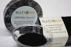 Activated Charcoal Soap  Combo of Activated Charcoal by NatuSoap
