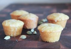 Orange Cardamom Tea Cakes for Victorian Tea Party
