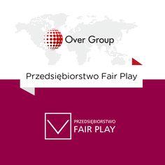 """Over Group firmą z certyfikatem """"Przedsiębiorstwo Fair Play"""".   Więcej szczegółów: http://over-group.pl/pl/aktualnosci/pokaz/over_group_firma_fair_play.html"""