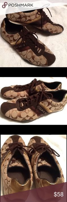 27fbe593d Coach signature tennis shoes Coach signature Tennis Shoes