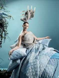 Tim Walker and the collaboration with clothing brand Zara has blown me away. I love the opulent fairytale universe he always creates - have a look: High Fashion Photography, Glamour Photography, Film Photography, Lifestyle Photography, Editorial Photography, Product Photography, Tim Walker Photography, Famous Photographers, Zara Home
