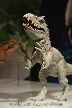 INDOMINUS REX from JURASSIC WORLD - Toy Fair 2015
