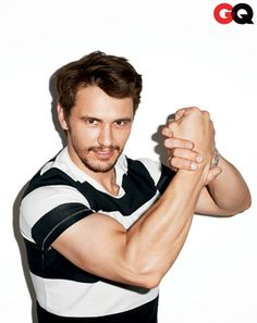 Hollywood heart-throb James Franco plays the joker for Terry Richardson in this cover shoot for American GQ magazine's Comedy issue. James Franco, James 3, Actor James, Terry Richardson Photos, Terry Richardson Photography, Franco Actor, Franco Brothers, Editorial, Tommy Ton