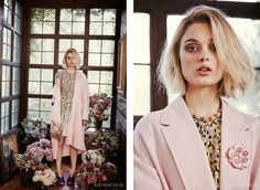 nice Bella Heathcote Takes on Spring's Most Valuable Print