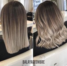 Ombre Love it. Balayage Ombré is everything! June can& come fast enough Alpingo Balayage , Love it. Balayage Ombré is everything! June can& come fast enough Love it. Balayage Ombré is everything! June can& come fast enough . Hair Color 2017, Hair Color Balayage, Balayage Short Hair, Ashy Balayage, Balayage Hair Brunette Medium, Balayage Highlights, Color Highlights, Blonde Ombre Short Hair, Balyage Hair