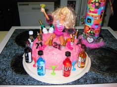 21st birthday cake for kenzi from her mom.! too cute not to pin.