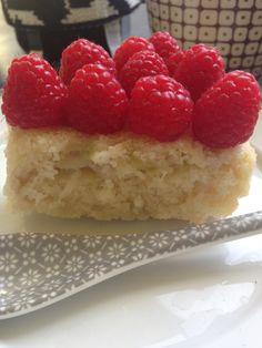 The worlds best rhubarb cake