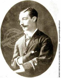 """Guardiamarina José María Villarreal  Ref: Antonio Bisama Cuevas """"Album Gráfico y Militar de Chile""""  Colección: Marcelo Villalba Solanas"""