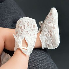 Lola Lace Christening Booties                                                                                                                                                                                 More