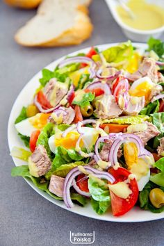 Healthy Salads, Healthy Eating, Healthy Recipes, Good Food, Yummy Food, Lunch To Go, Ketogenic Recipes, Easy Chicken Recipes, Us Foods