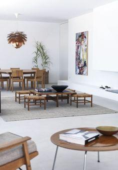 23 Stunning Scandinavian Style Furniture To Help You Pull Off The Look - Di Home Design Danish Furniture, Classic Furniture, Mid Century Modern Furniture, Furniture Styles, Scandinavian Furniture, Plywood Furniture, Scandinavian Design, Furniture Design, Modern Interior
