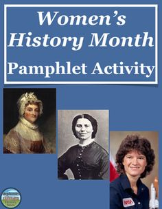 For Women's History Month, students create a pamphlet highlighting 4 women of their choosing (while fulfilling certain requirements) and addressing specific topics discussed during Women's History Month. The activity includes thorough instructions, a sample layout, and a points distribution totaling 100 points. This is appropriate for both US and World/European History and could work for a sub!