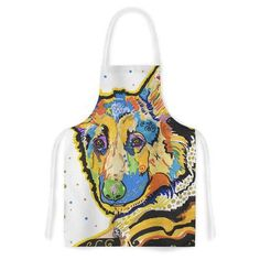 East Urban Home Floyd by Rebecca Fischer German Shepard Artistic Apron