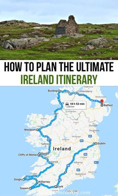 The Perfect Ireland Road Trip Itinerary You Should Steal How to plan the ultimate ireland itinerary & top things to do in Ireland & planning an ireland road trip itinerary [& Cool Places To Visit, Places To Travel, Travel Destinations, Travel Usa, Travel Tips, Travel Packing, Travel Europe, Travel Books, Travel Backpack