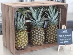 All in the deets - #Pineapple #Visual #Catering #Events #Display #Details