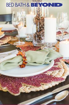 Bring on the guests. We've got your Thanksgiving table covered.
