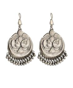 Handmade Traditional Earring - www.silvercentrre.com Product Code: SCW 26