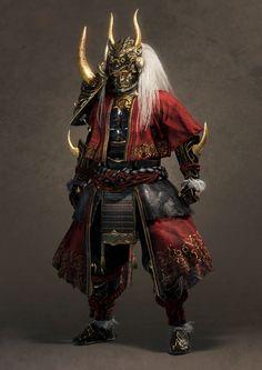 『仁王2』公式アカウント (@nioh_game) / Twitter Oni Samurai, Samurai Warrior, Character Concept, Character Art, Concept Art, Madara Uchiha, Susanoo, Goku E Vegeta, Samurai Concept