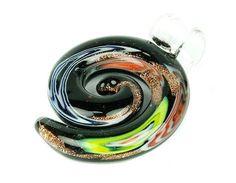Boho chic Bohemian Glass Pendant DIY necklace by BeeOkJewelry