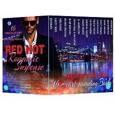 NY Times and USA Today Bestselling Authors  16 Top-Selling Novels! Over 3000 pages of romantic thrillers, mysteries, and suspense!  Stock up for your kids-went-back-to-school reading with this one great box set! 16 sizzling, suspenseful, thrilling romance novels that will make your pulse race!  Sixteen new book boyfriends are here to save you from the same-old, same-old. Just when you thought the house was quiet, they'll show up–dressed in black leather or a well-tailored suit...
